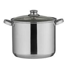 10 Liter Edelstahl Kochtopf Gulaschkessel Suppentopf Spargeltopf Soßentopf