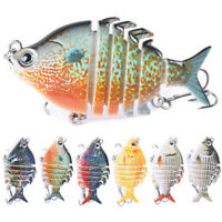 Fishing Lures 6 Jointed Sinking Wobblers Swimbait Lure Hard Bait Trendy Lure