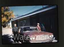 1960s Kodachrome Duplicate photo slide Chrysler  Car automobile