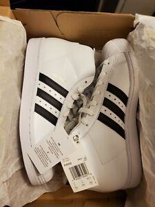 Adidas Original Men's size 7.5 PRO MODEL Superstar NEW White Black FV5722
