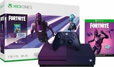 Limited Edition Fortnite Purple 1TB XBOX One S Dark Vertex Gradient Purple