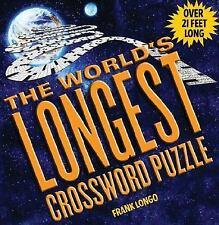 The World's Longest Crossword Puzzle by Frank Longo New & Sealed over 21 feet!!!