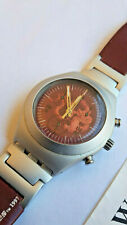 SWATCH+JAMES BOND 007 SPECIAL+YMS1006 TOMORROW NEVER DIES+LIGHTLY USED