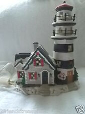 Lighted Highland Point Lighthouse Santas Workbench Collection Victorian Series