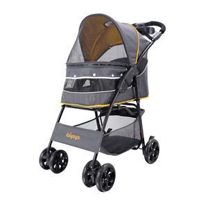 Cloud 9 Pet Stroller - Mustard Yellow