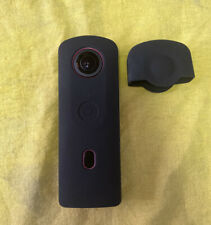 Ricoh THETA SC2 4K 360 Camera Pink With Black Silicone Skin And Lens Protector