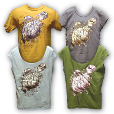 Breakfast Cereal & Milk Themed T-shirt > Mens Medium Yellow > Eco Friendly Reuse