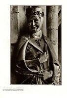 Das Lächeln der Reglindis XL Fotoabb. 1931 Dom zu Naumburg Günther Beyer Weimar