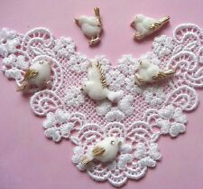 Tiny birds silicone mold fondant cake cupcake decorating APPROVED FOR FOOD