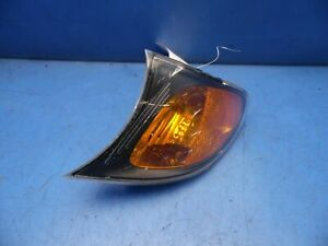 00-05 BMW 3 Series E46 OEM Left corner signal light factory # 6 915 381 *cracks