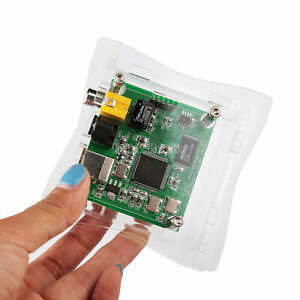 Mini CM6631A USB To SPDIF Converter Digital Interface Coaxial Optical 32Bit/384K