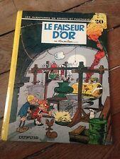 le faiseur d'or (1974) spirou et fantasio bd ancienne dos rond