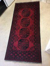 Vintage Traditional Oriental wool rug 75� x 33�