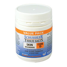 SCHUESSLER Tissue Salts Combination D 250tablets Skin Disorders Acne Eczema comb