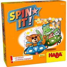 Haba Version de Voyage Geschenkzwerge Spin It! Jeu Placement à partir 5 Ans