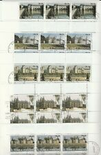 5 Sheetlet Castles S.TOME E.Principe Postmarked