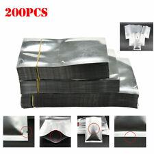100-500PCS Aluminum Foil Mylar Bag Vacuum Sealer Food Storage Package Pouch