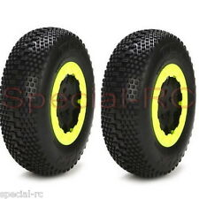 Losi    Tire with Foam, Blue, Mounted (2): 22SCT RTC TLR43000