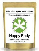Organic Sulfur Crystals - 99% Pure MSM Premium MSM Natural Supplement-SPECIAL