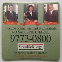 Stockdale & Leggo 406 Nepean Hwy Chelsea Bob Allan 97730800 Coaster (B318-11)
