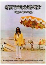 """Neil Young POSTER On The Beach VERY LARGE 24"""" Print - AMAZING COLORS"""