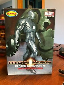 Iron Man Limited Edition Mark II Armor Model Kit from Moebius Models 1/8 Scale