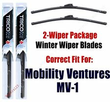 WINTER Wipers 2-Pack fits 2014+ Mobility Ventures MV-1 - 35220x2