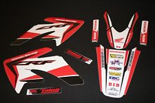 HONDA CRF70- CRF80- CRF100 EDGE1 MX GRAPHICS KIT DECALS KIT STICKER KIT STICKERS