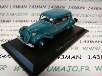 TRA75C voiture 1/43 atlas traction NOREV :  traction 11 B Limousine 1937