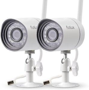 Zmodo ZMW0002Q4 Bullet Security Cameras - 4 Pack