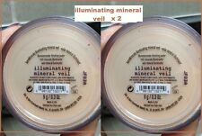 Bare Escentuals bareMinerals Illuminating Mineral Veil Face Powder Sealed 9g X 2