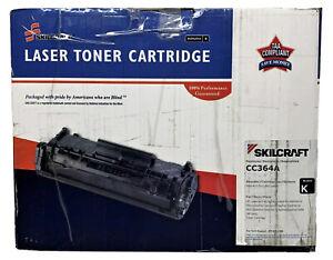 HP 64A AbilityOne Skilcraft Remanufactured CC364A Black Toner Cartridge