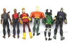 "6pcs DC Comics Universe Young Justice Jul Aquaman CHESHIRES Movie Toys 4"" Figure"