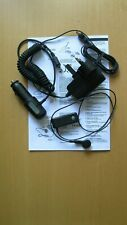 USED GENUINE SONY ERICSSON VH-300 BLUETOOTH HEADSET WITH MAINS AND CAR CHARGER