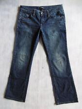 Esprit Smart Straight blue Denim stretch Jeans Hose Gr 38 W29/L30 1AZust. $360