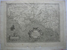 Spanien Reino Valencia Orig Copperplate Mercator 1630 Espana