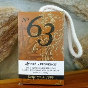 PRE de PROVENCE No. 63 Men's Shea Butter Enriched Soap Rope 7oz - Made In France