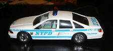 Golden Wheels 1/24 NYPD Chevrolet Caprice Police Car