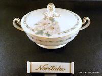 NORITAKE china TOKI KAISHA 5029 pattern  ~ Coveredl Vegetable Bowl