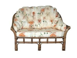 NEW WRAP SOFA CUSHIONS AND COVERS - CANE CONSERVATORY WICKER FURNITURE