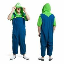 Nintendo Super Mario Bros. (Luigi) Lounger Kigurumi Bodysuit Costume Halloween
