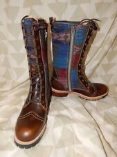 Woolrich Santa Fe Womens Wool Tall Lace Up Boots-11