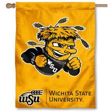 Wichita State Shockers WSU University College House Flag