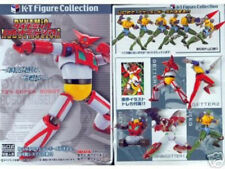 K-T Figure Collection - Getter 1,2,3, Shin Getter & Jeeg KT Kaiyodo Takara