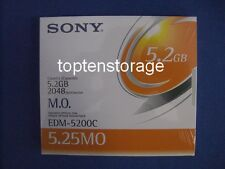 "Sony EDM-5200C 5,2GB 5,25"" wiederbeschreibbare MO-Diskette / MO-Disk  *NEW*"