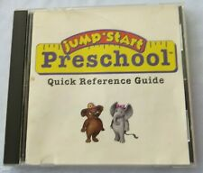 Jump Start Preschool (Rare Version) Disc And Quick Ref Guide- 1995 - Pc Windows