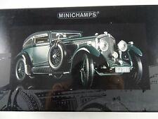 1:18 MINICHAMPS 100139520 Bentley 6.5 Gurney Nutting Saloon Blue Train unbespiel