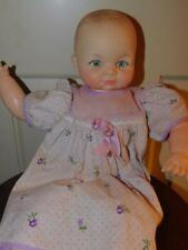 "Vintage Cameo Miss Peep Baby Doll 1953 pin-Hinged Limbs 15"" Squeaks Vinyl"
