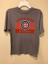 NWOT Gray Chicago Cubs T-Shirt Men's Size Small