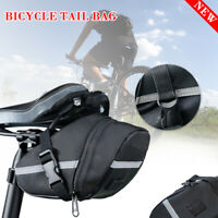 Bicycle Black Cushion Bag Riding Bag Mountain Bike Tool Bag Cushion Bag New